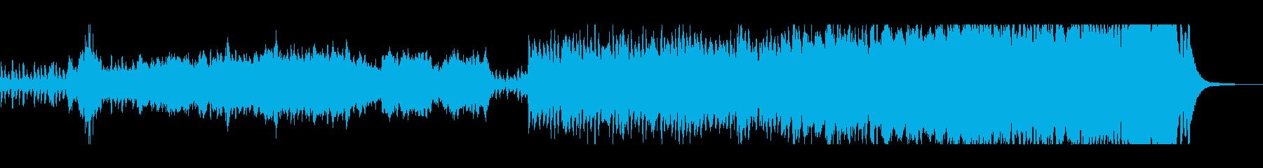 盛大でファンタジーなシンセサウンドの再生済みの波形