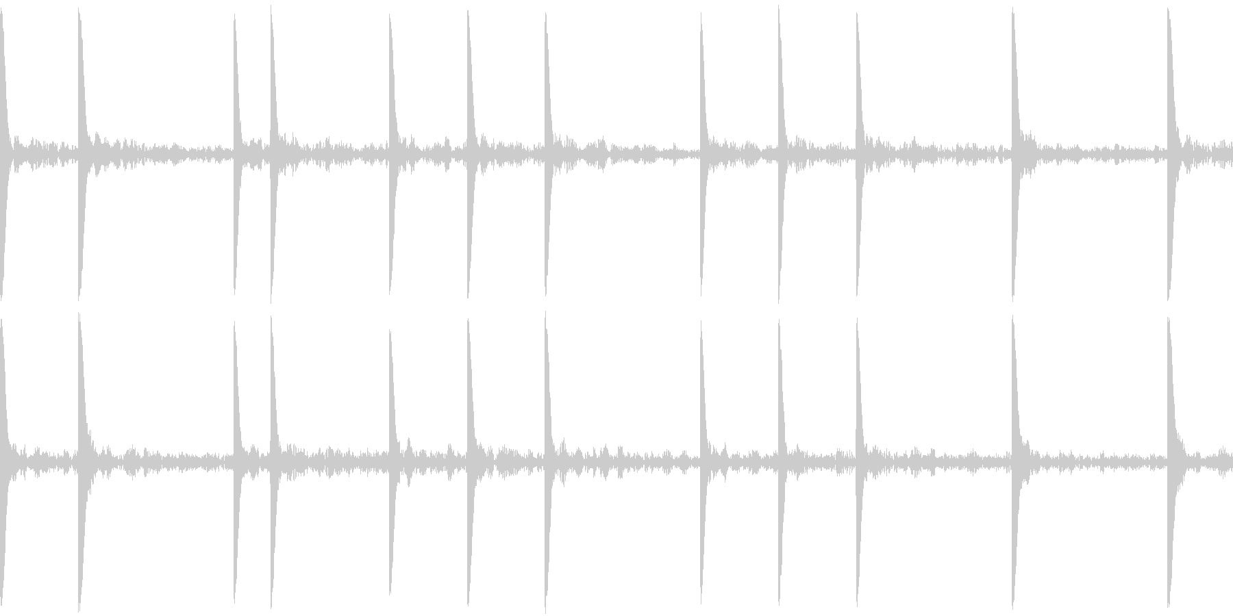 EDM PluckLoop5 音楽制作用の未再生の波形