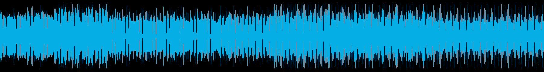 不思議なディープテクノの再生済みの波形