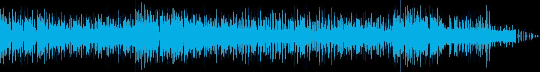 ノワール意識のヘビーで光沢のあるロックの再生済みの波形
