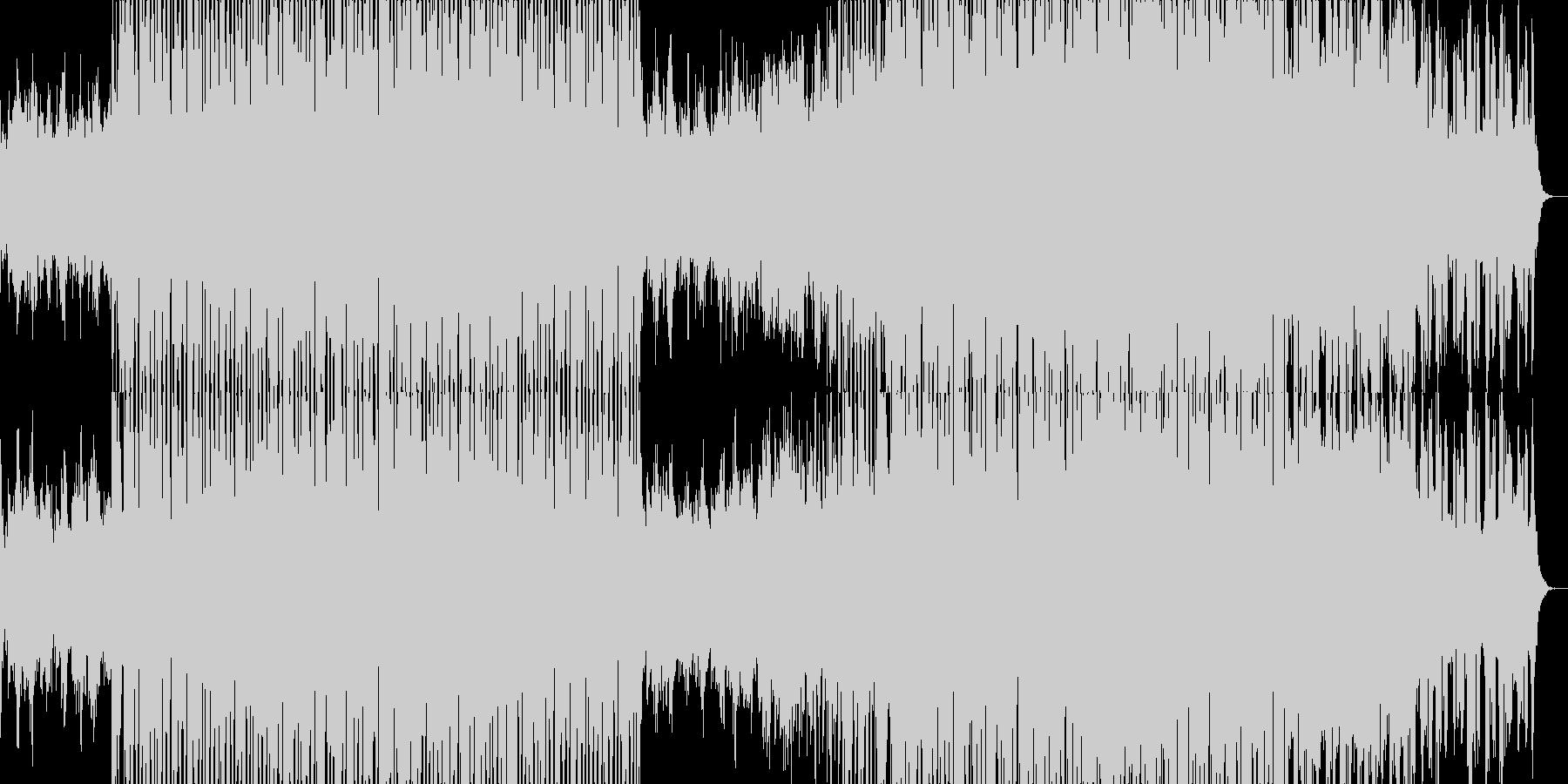 明るいチルアウトミュージック。の未再生の波形
