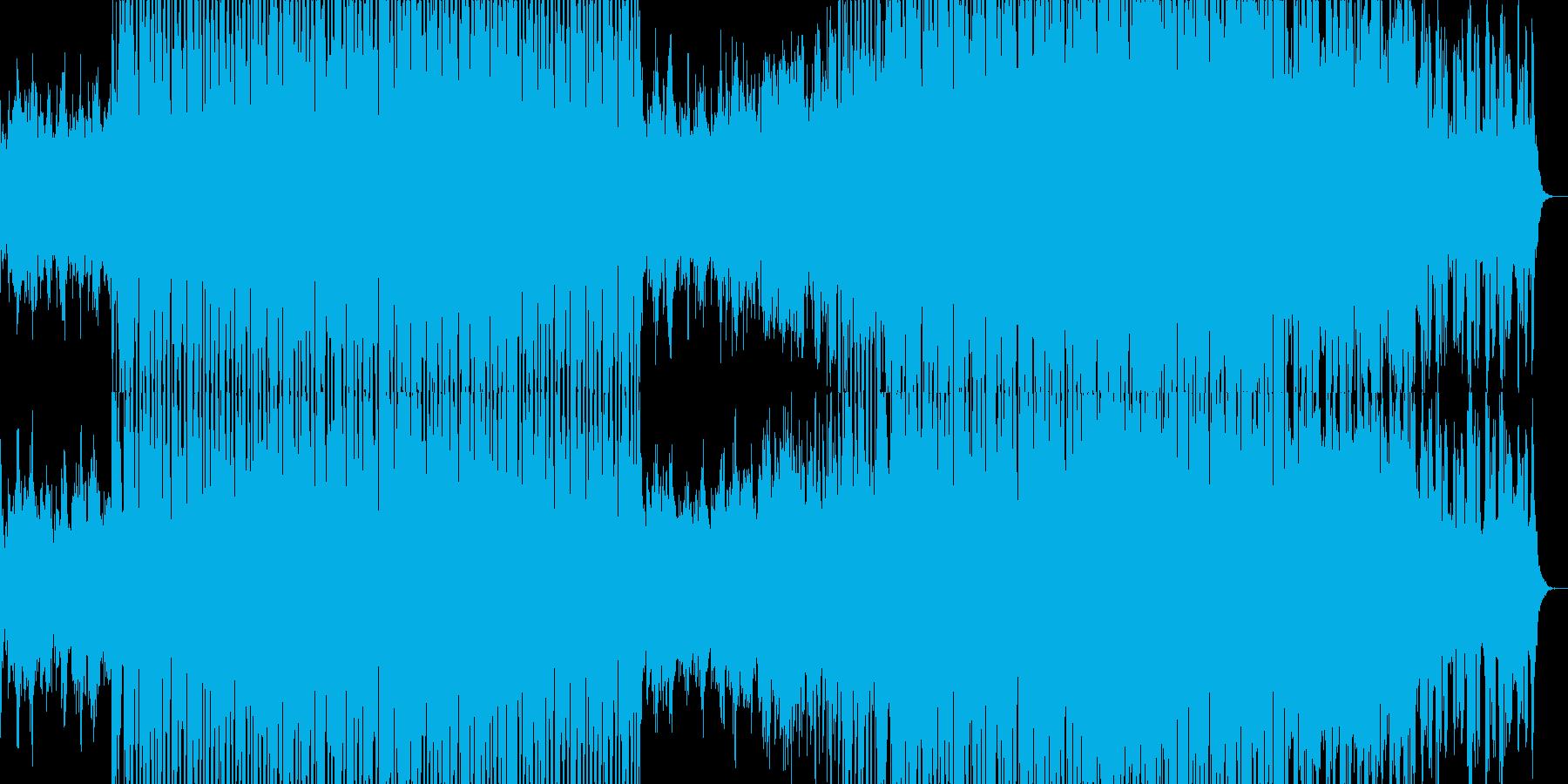 明るいチルアウトミュージック。の再生済みの波形