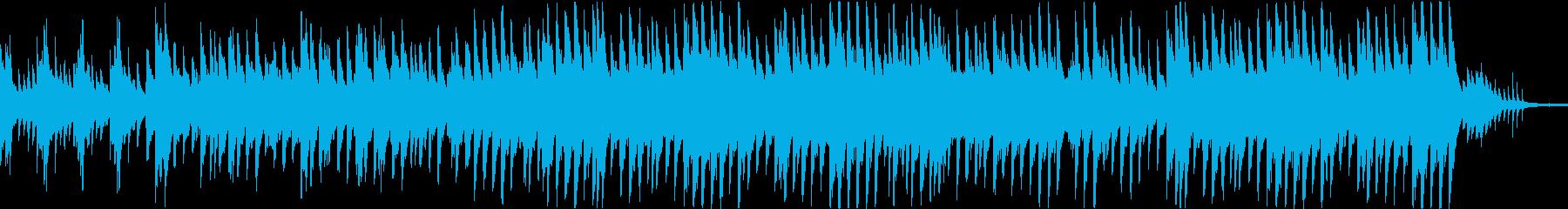 穏やかなピアノ曲2/OP・ED有の再生済みの波形