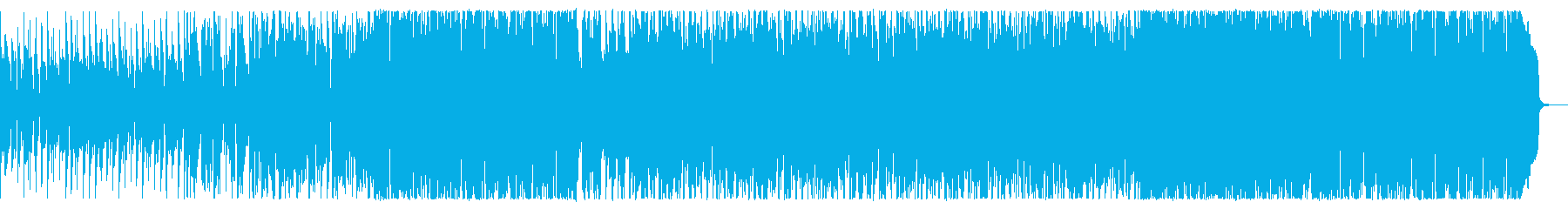 軽快で少し切ないフュージョンロックの再生済みの波形