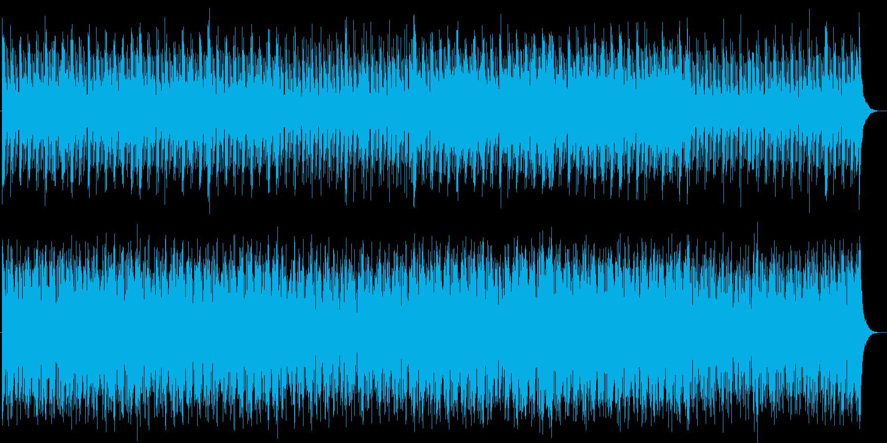 宇宙感のあるシンセサイザーテクノEDMの再生済みの波形