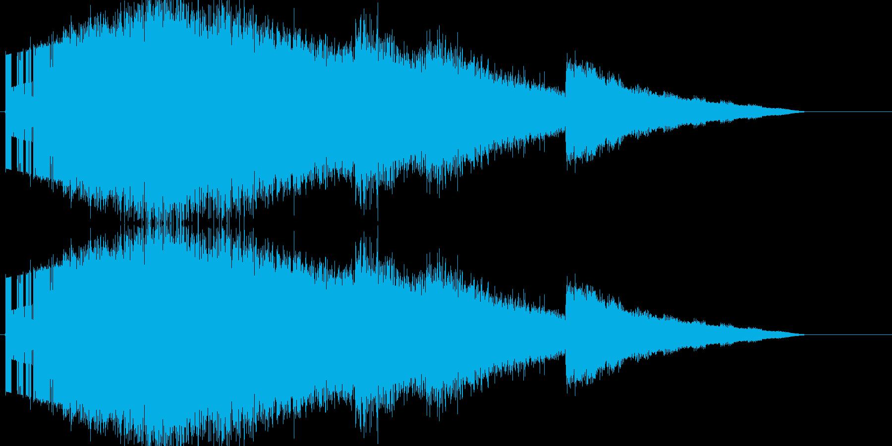 レトロゲーム風魔法・バリアや氷系2の再生済みの波形