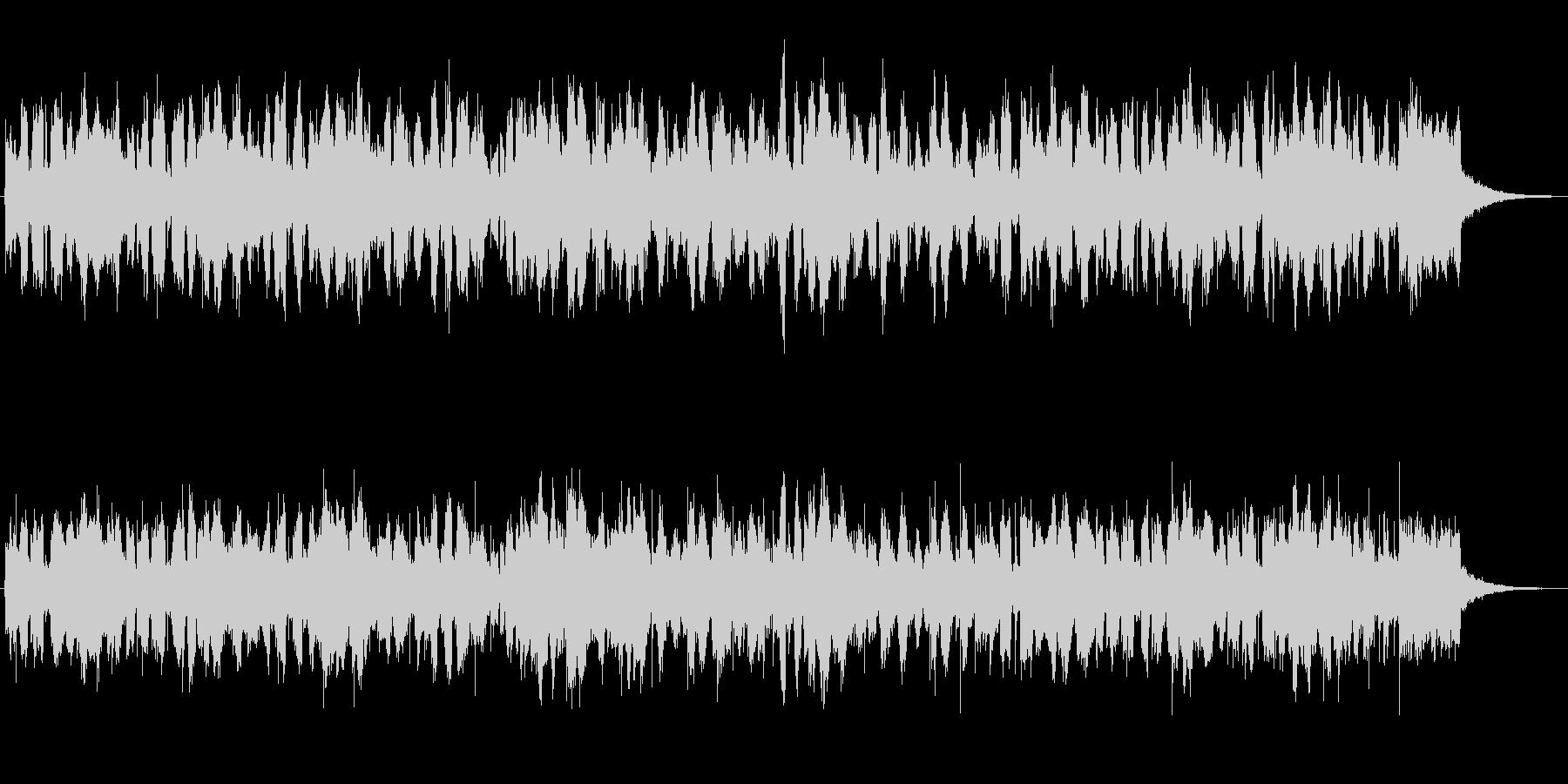 アコーディオンの牧歌風的なジングルの未再生の波形
