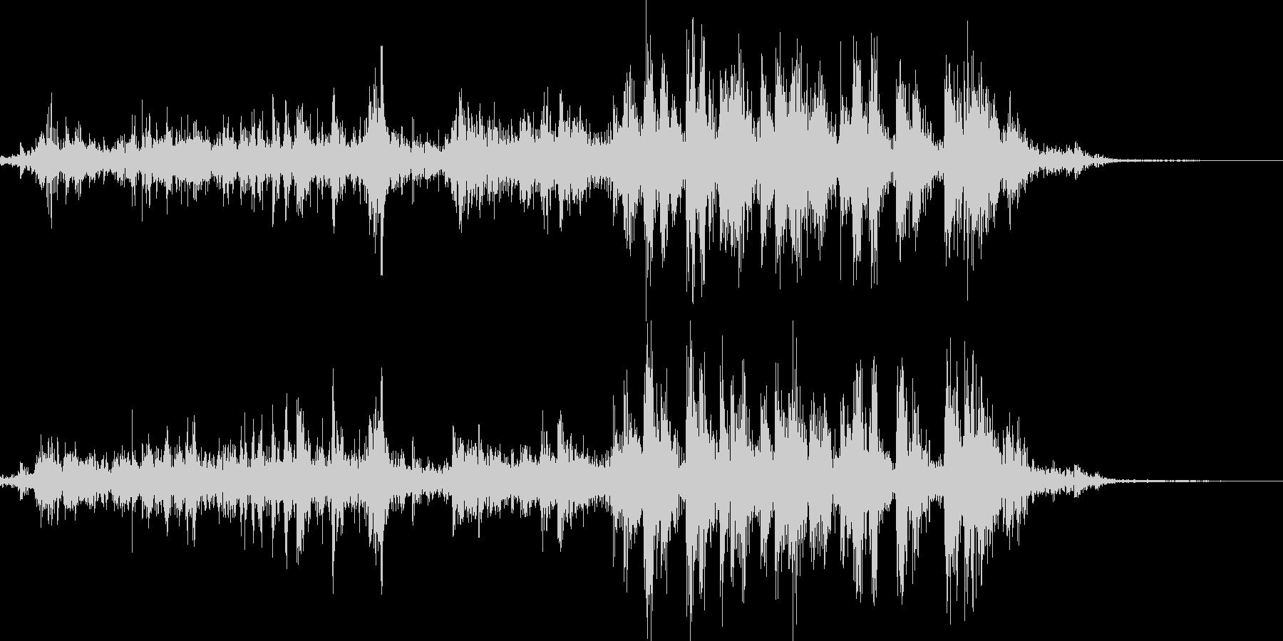 アルミホイルをちぎるの未再生の波形