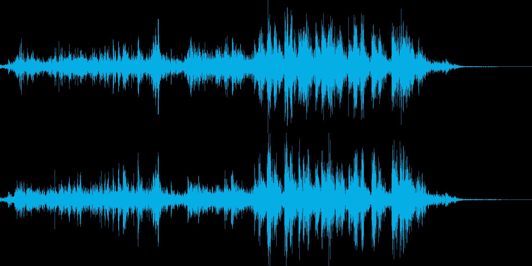 アルミホイルをちぎるの再生済みの波形