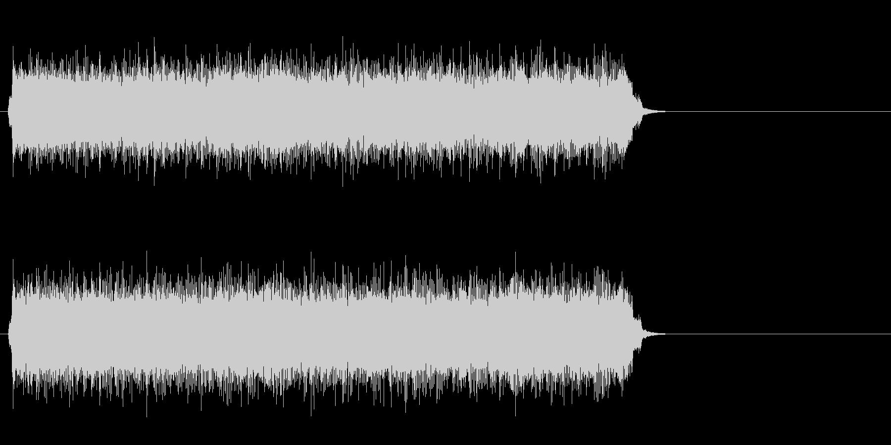 疾走するアメリカンロック(サビ)の未再生の波形