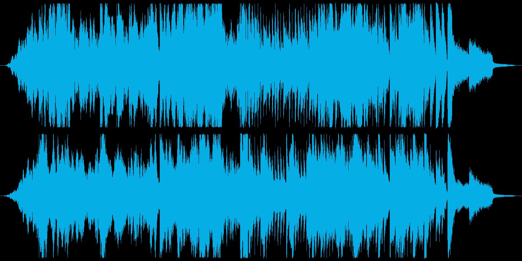 不思議な感じの始まりをイメージして作っ…の再生済みの波形
