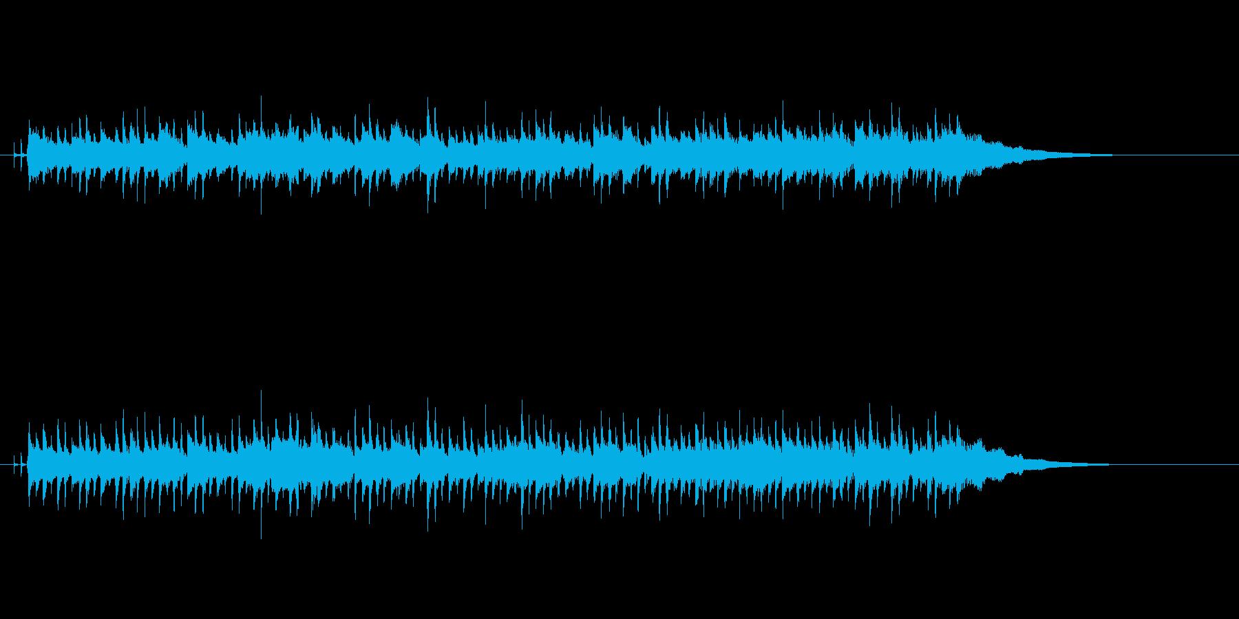 ボサノバな曲ですの再生済みの波形