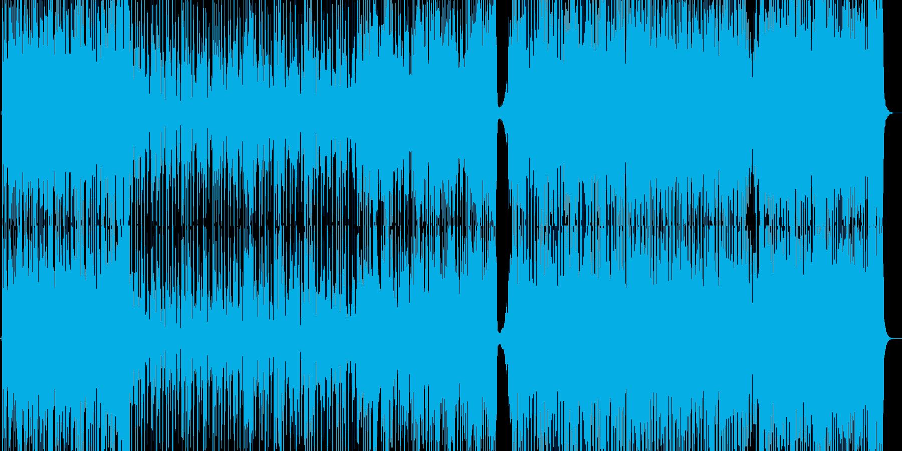 疾走感溢れる爽やかなロックの再生済みの波形