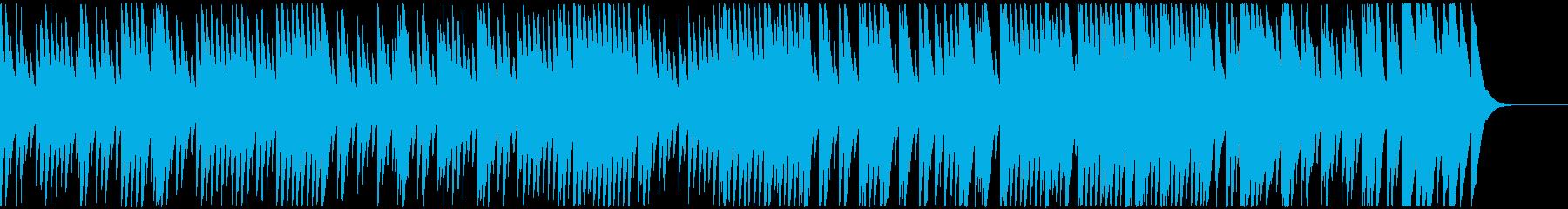8bit音源の切ないバラード曲(桜逢瀬)の再生済みの波形