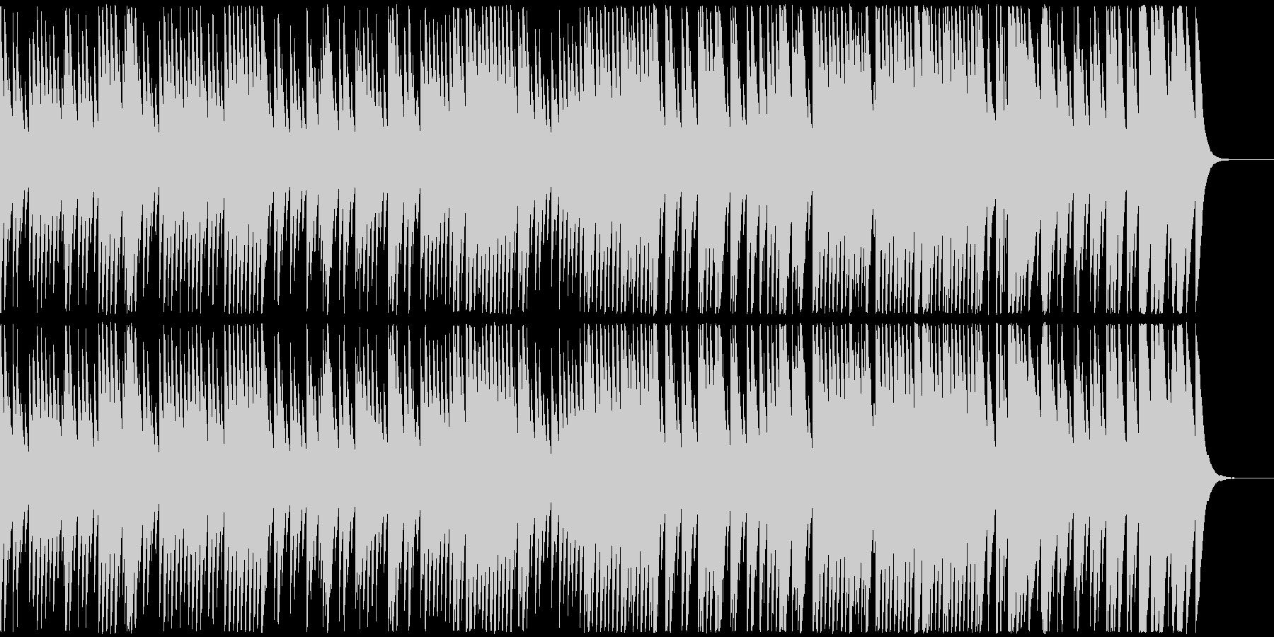 8bit音源の切ないバラード曲(桜逢瀬)の未再生の波形