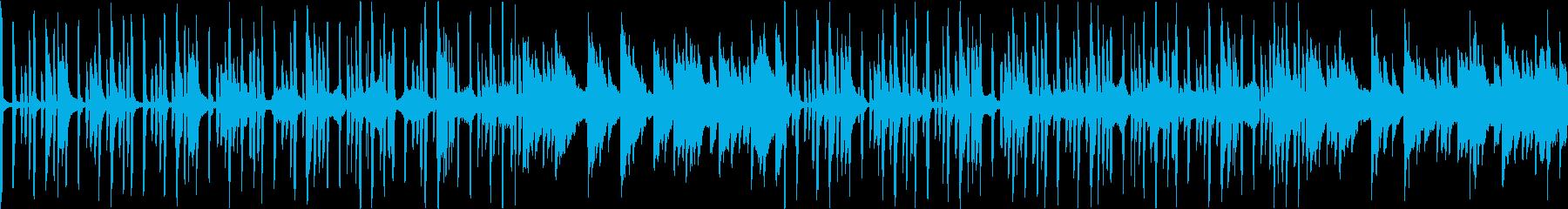 【リズム抜き】ほのぼの明るい素朴なBGMの再生済みの波形