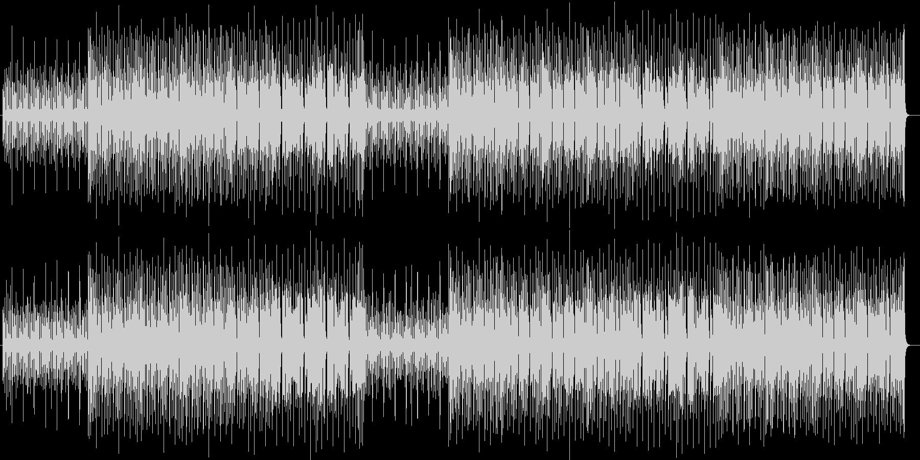 おしゃれでキャッチーなシンセサウンドの未再生の波形