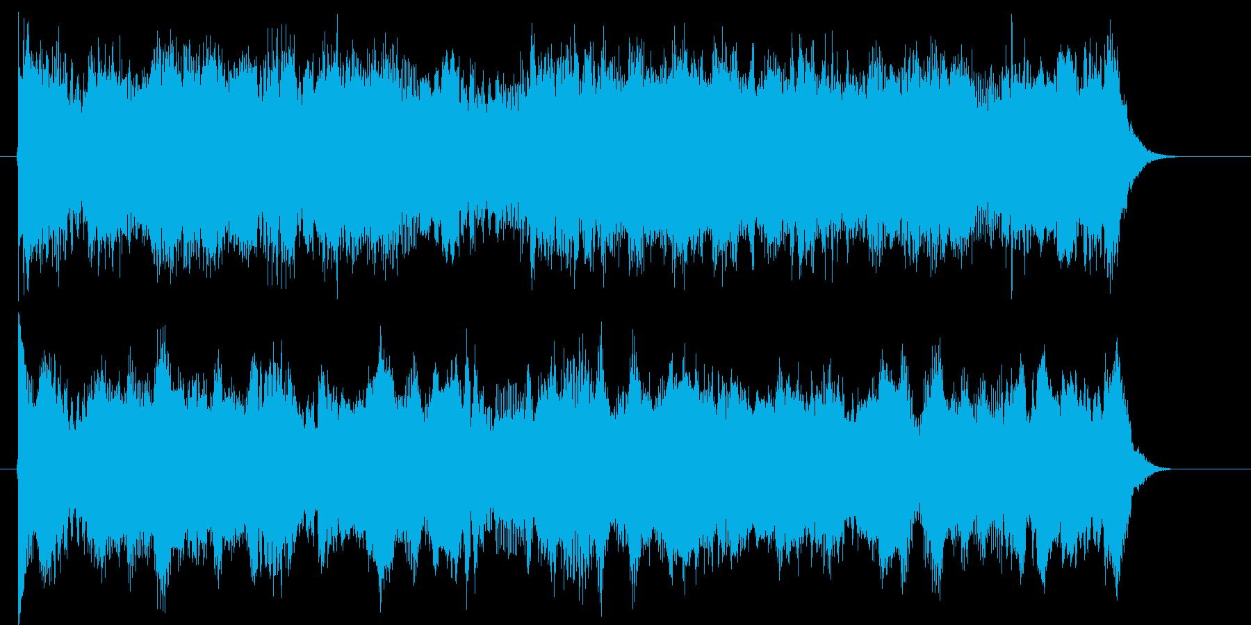 アンバランスなメロディーの再生済みの波形