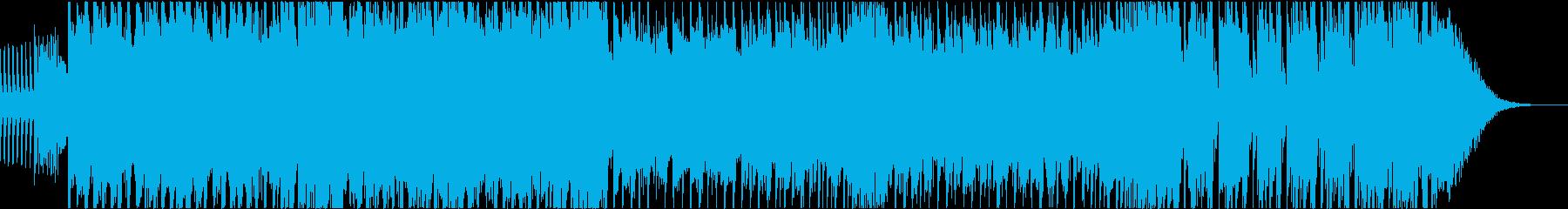 ダブステップ アクション スピードEDMの再生済みの波形