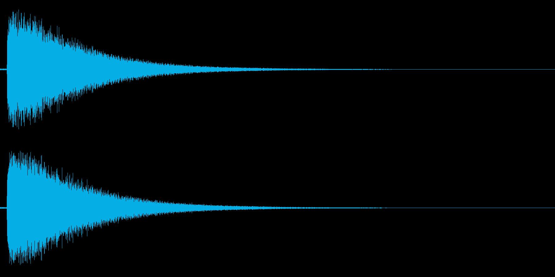 ジャンーの再生済みの波形