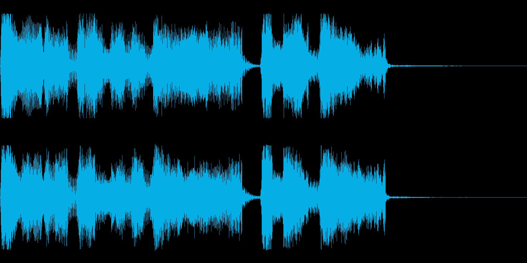 【パステルカラー1】の再生済みの波形