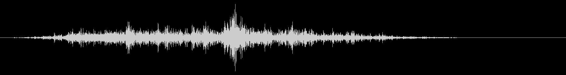 ガラガラ_崩れる音_04の未再生の波形