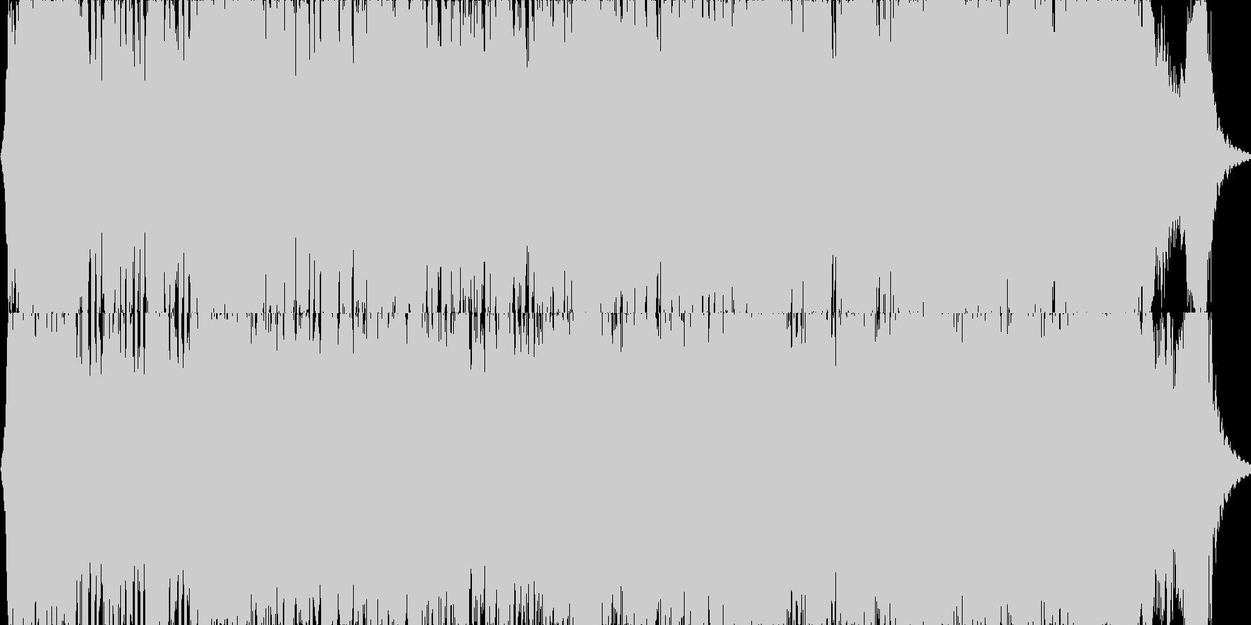 映画・ゲーム用バトルBGM15の未再生の波形
