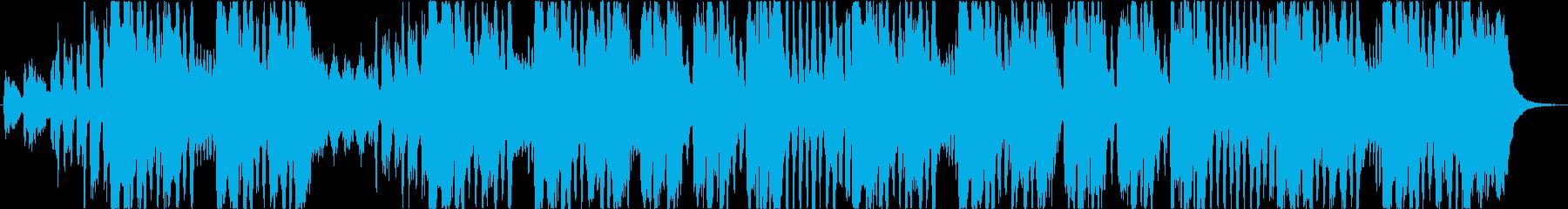 メンデルスゾーンの結婚行進曲(冒頭)ですの再生済みの波形