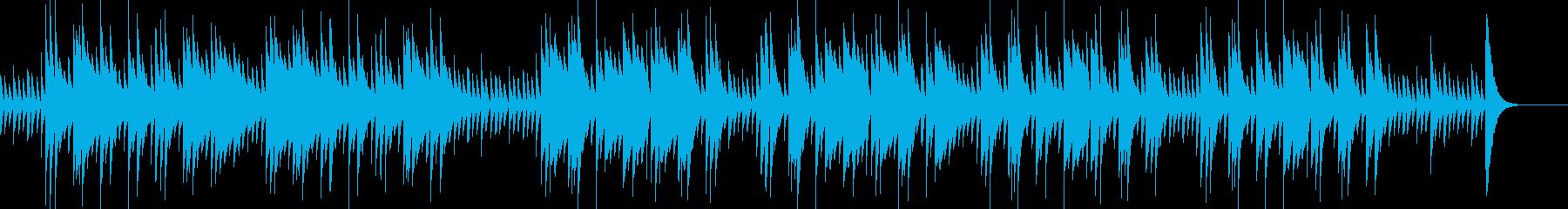 オルゴール調のアメイジング・グレイスの再生済みの波形