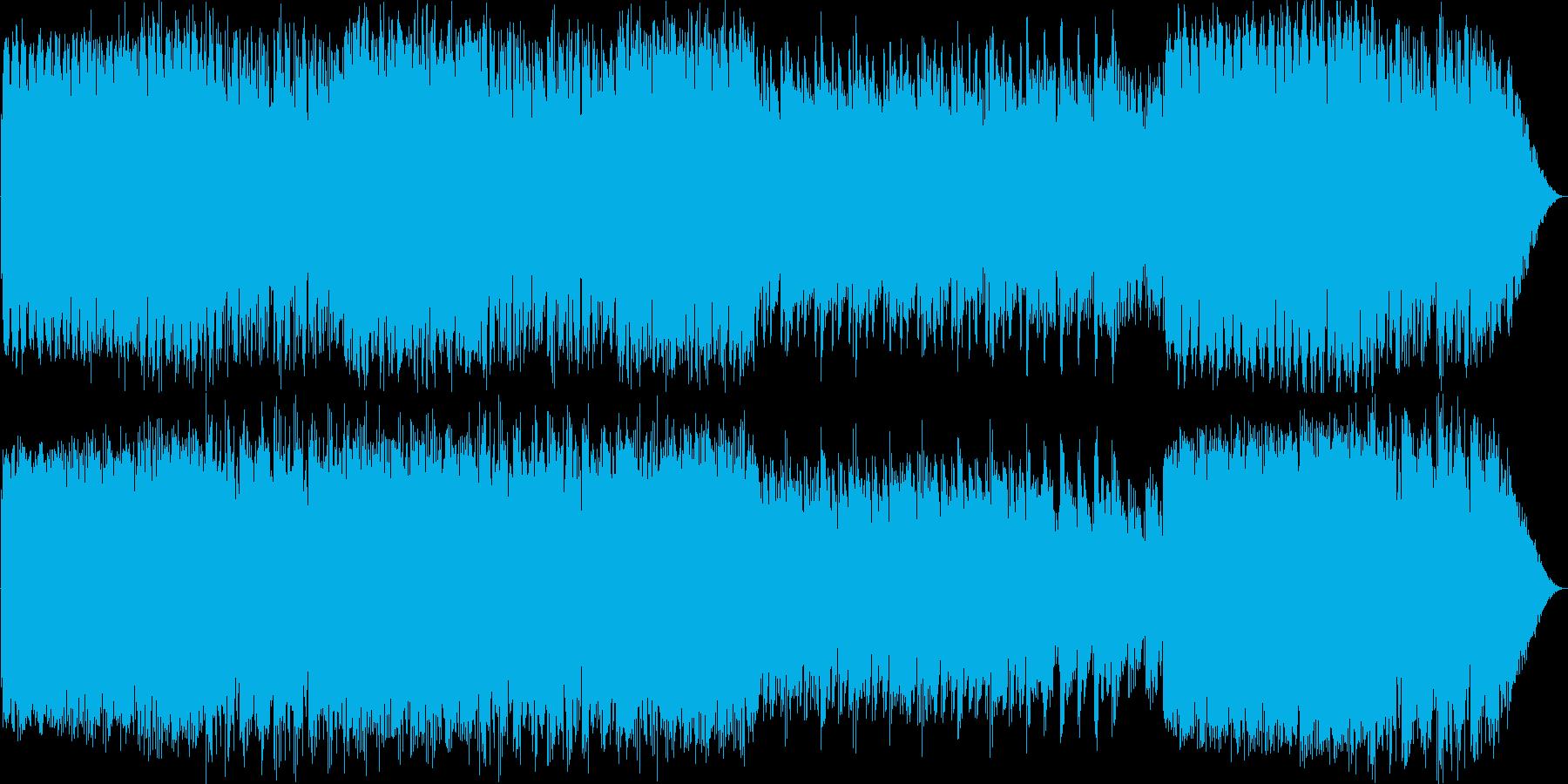 つつじの並木道をイメージして作りましたの再生済みの波形