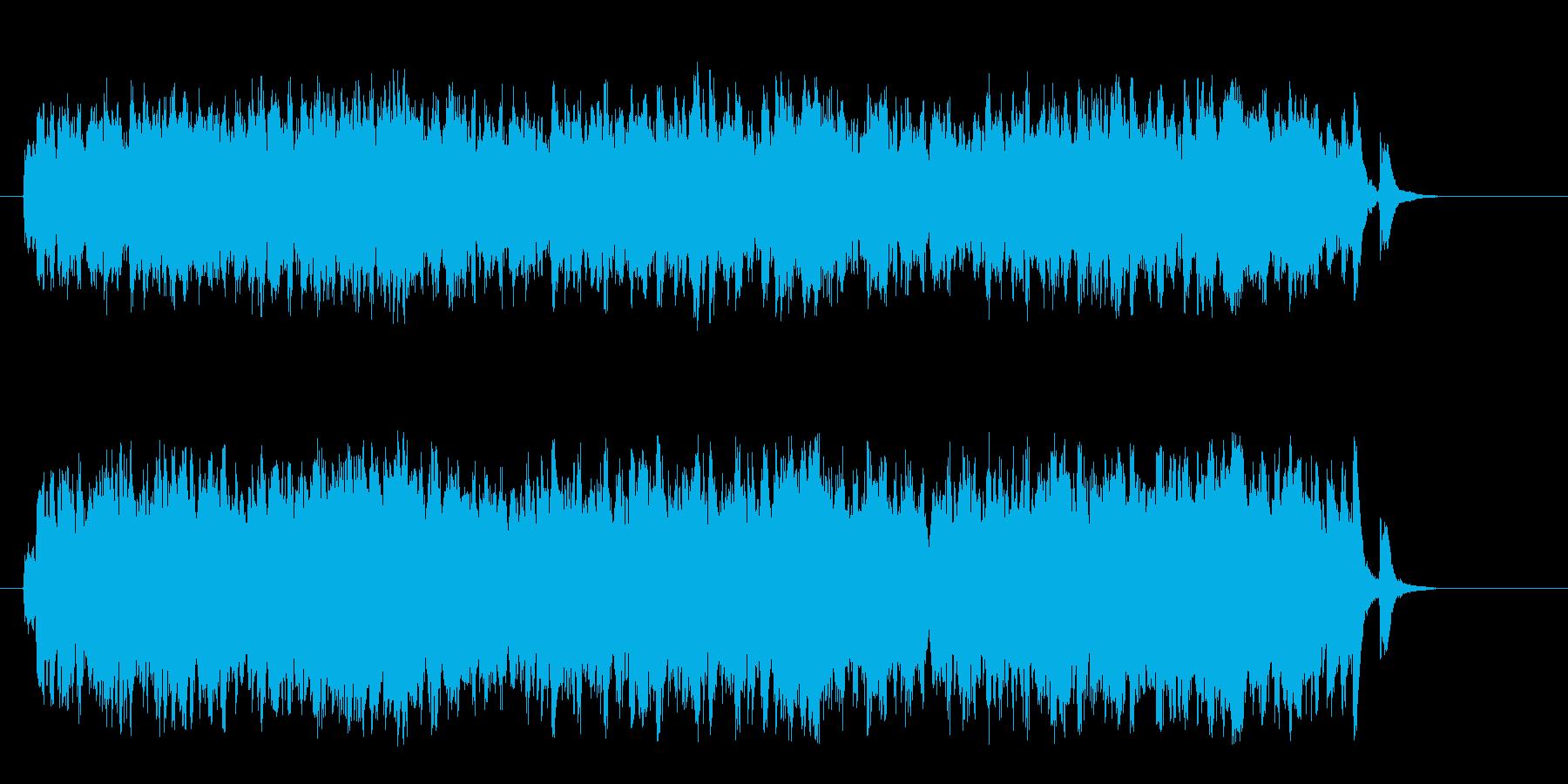 流れるピアノが美しいセミ・クラシック風の再生済みの波形