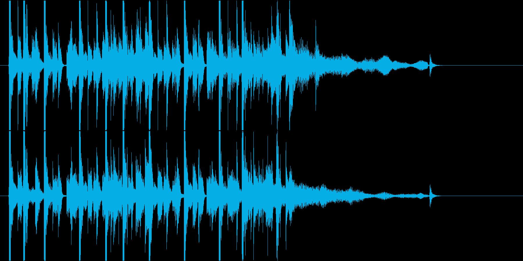 ラジオ等ジングル おしゃれで少しキュートの再生済みの波形