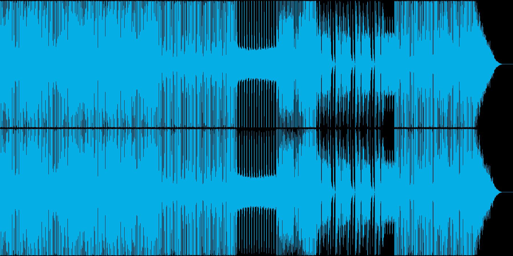HIPHOP トロピカル 楽しい EDMの再生済みの波形