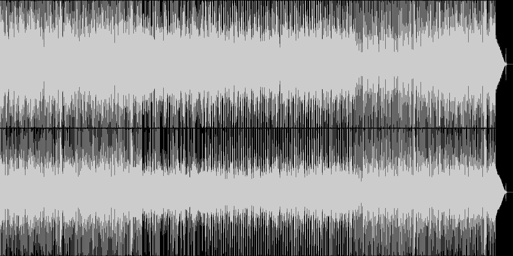 のんびりカントリーフォークの未再生の波形