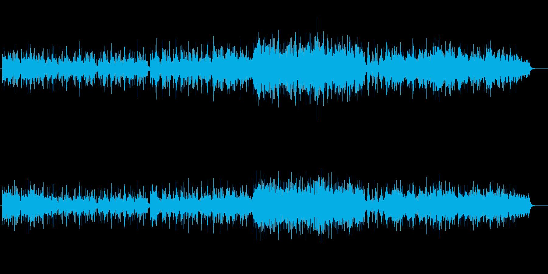 ミディアム・テンポのニューミュージックの再生済みの波形