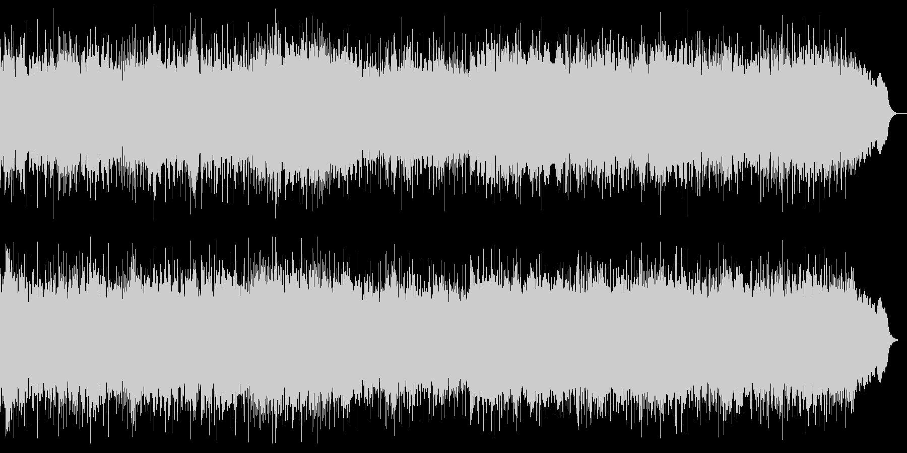 ダークな戦闘曲 ヘビーメタルのインストの未再生の波形