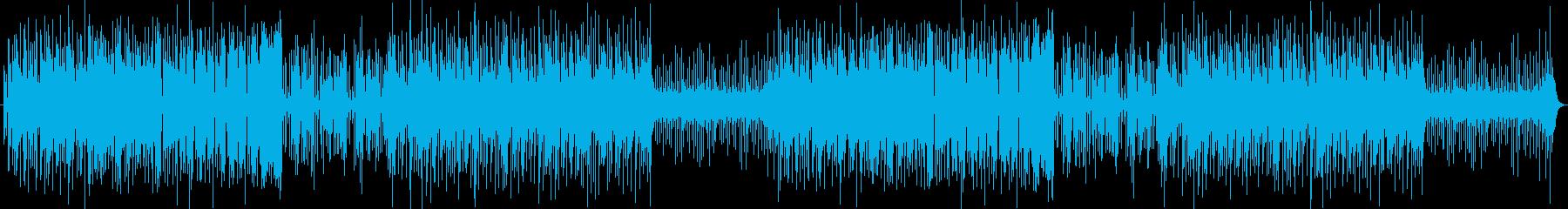【日常系】ほのぼのと明るく楽しい映像向けの再生済みの波形