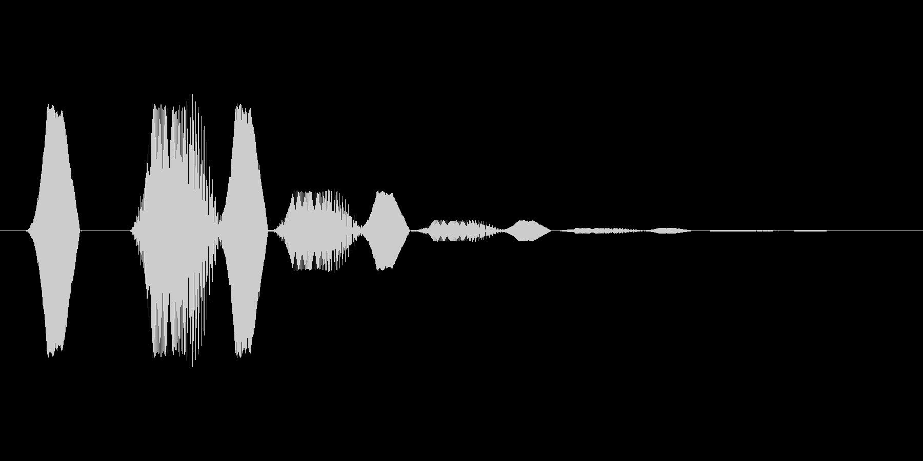ファミコン風効果音 決定音系です 33の未再生の波形