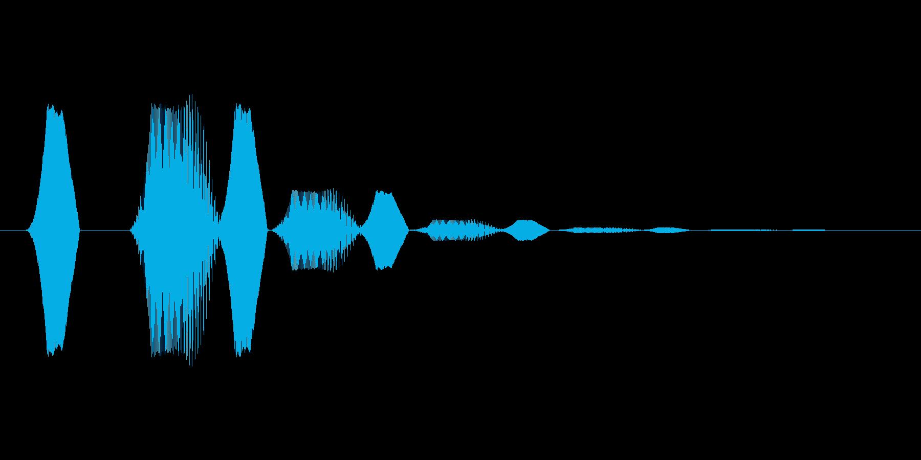 ファミコン風効果音 決定音系です 33の再生済みの波形