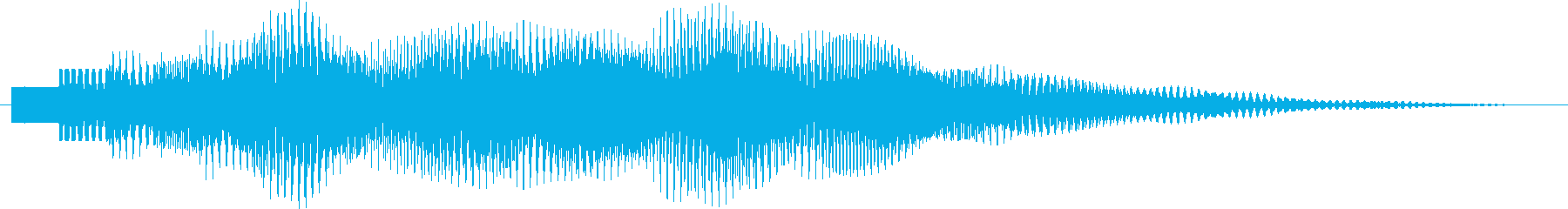 ポロリローン(デジタルチャイム)の再生済みの波形