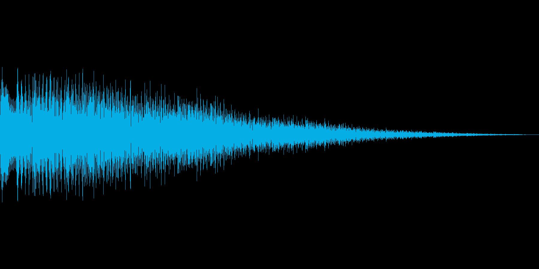 ピラララン(ハープ お知らせ 登場)の再生済みの波形