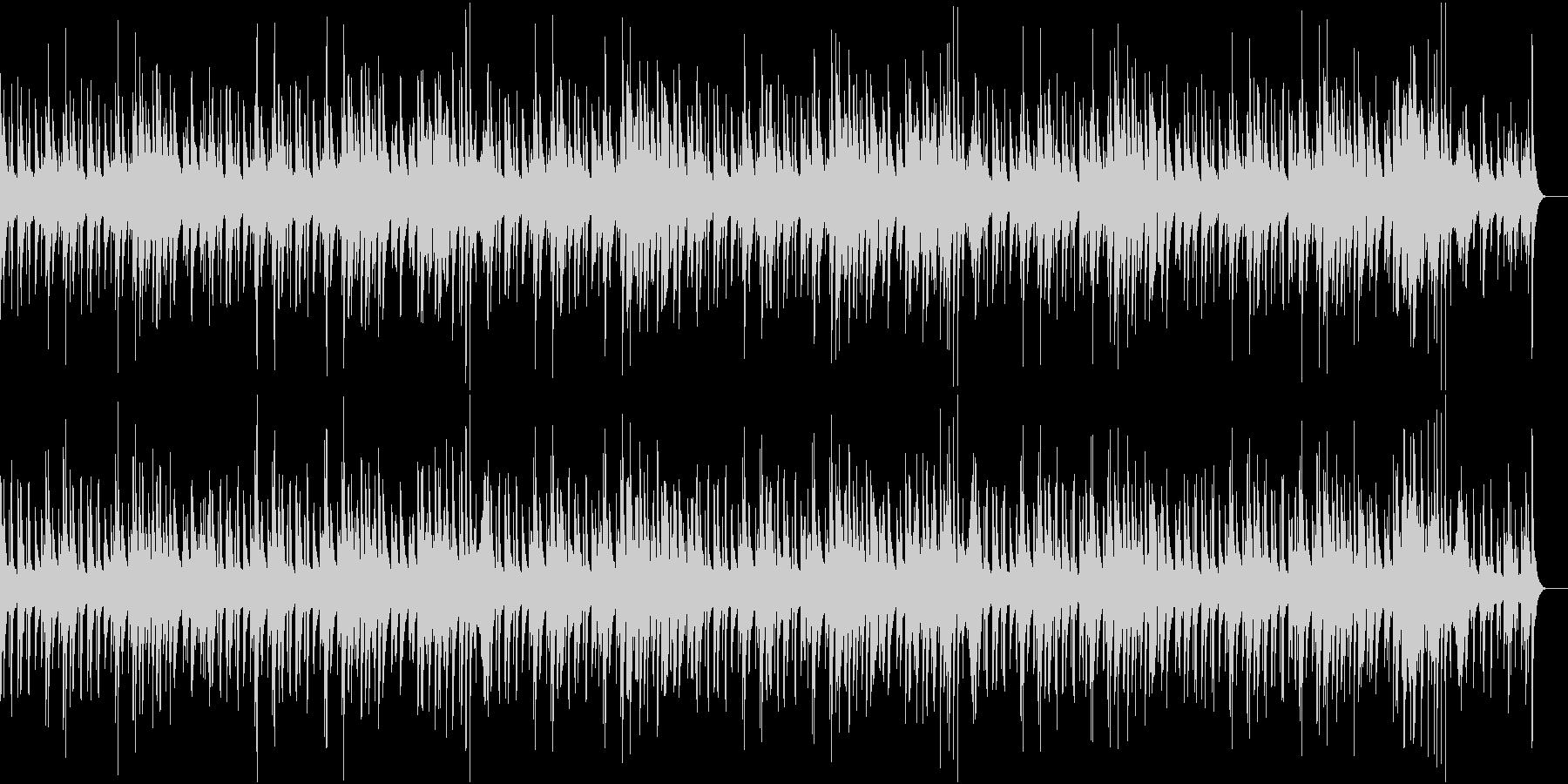 滑らかでエレガントなジャズの未再生の波形