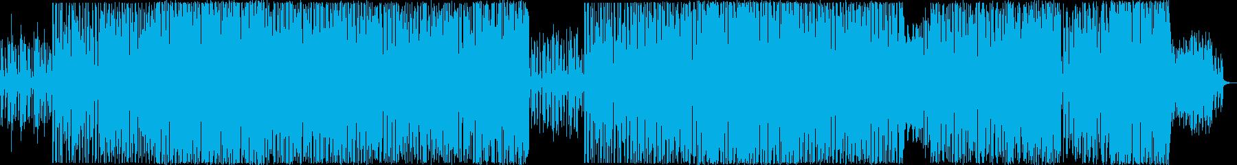 ハウス、アップテンポでかわいいポップな曲の再生済みの波形