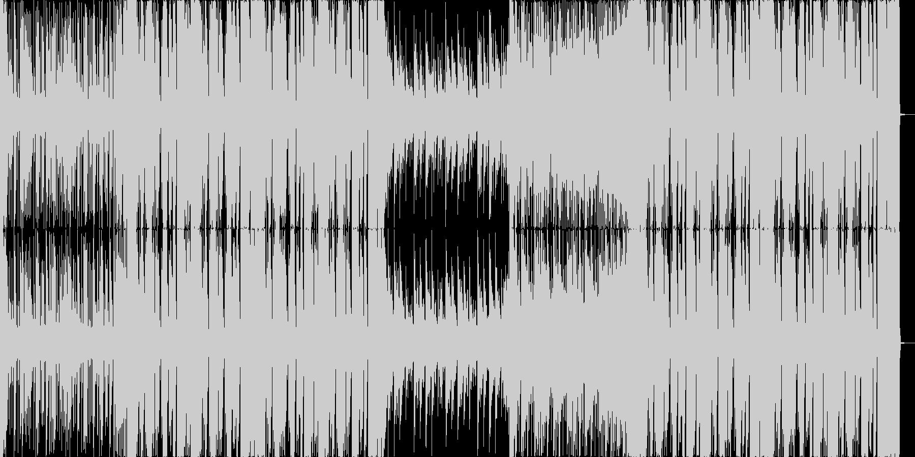 スタイリッシュなFutureBassの未再生の波形