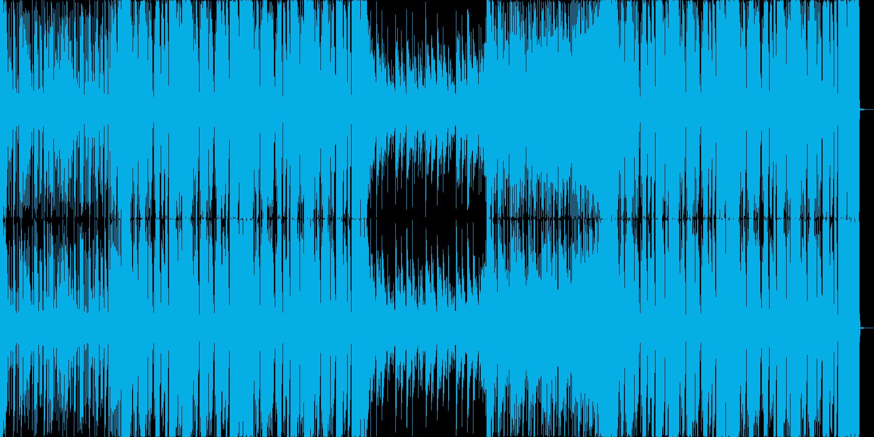 スタイリッシュなFutureBassの再生済みの波形