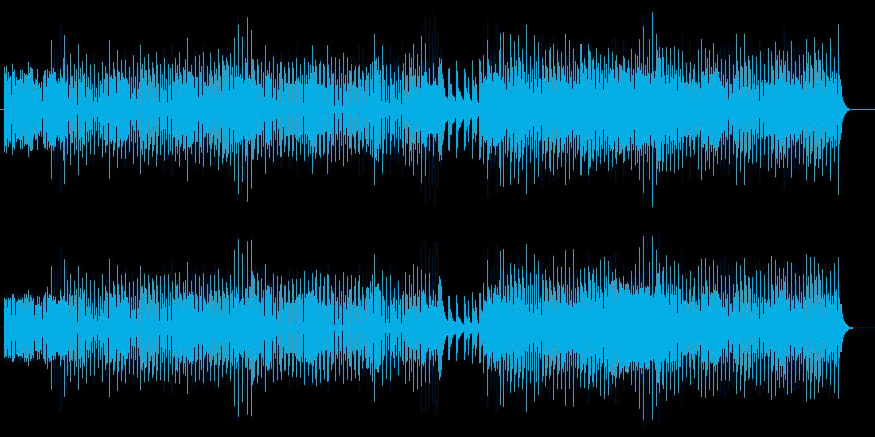 もろびとこぞりて テクノ カラオケの再生済みの波形