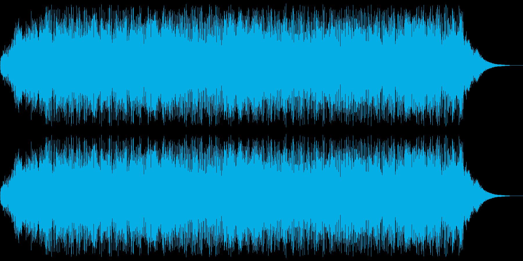 アニメにありそうなガンポッドの再生済みの波形