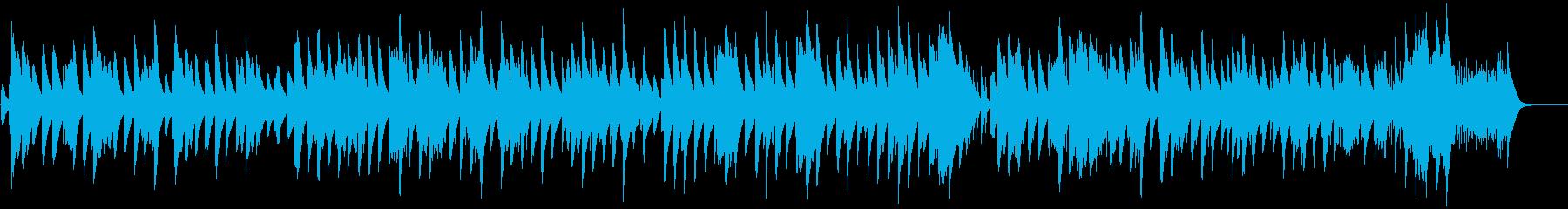 ショパン夜想曲5番のアンサンブルの再生済みの波形