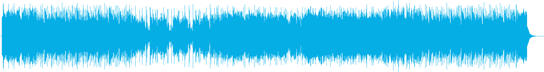 情熱的で感動的なストリングスポップスの再生済みの波形