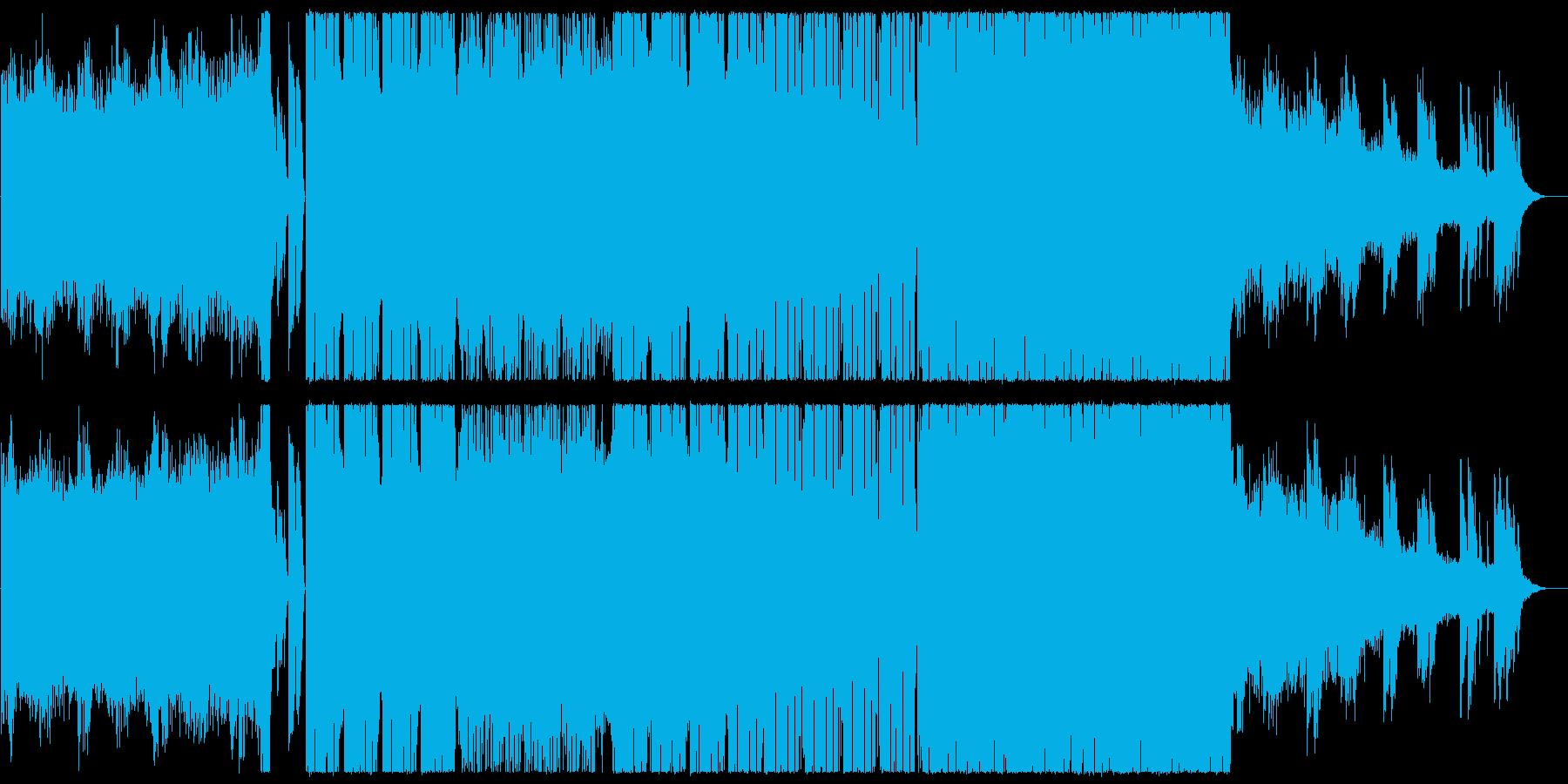 幻想的で疾走感のあるピアノエレクトロニカの再生済みの波形